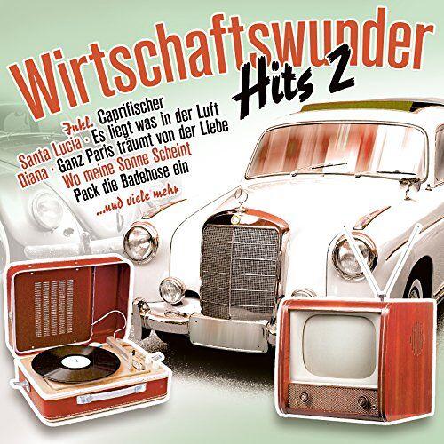 Various - Wirtschaftswunder-Hits 2 - Preis vom 10.05.2021 04:48:42 h