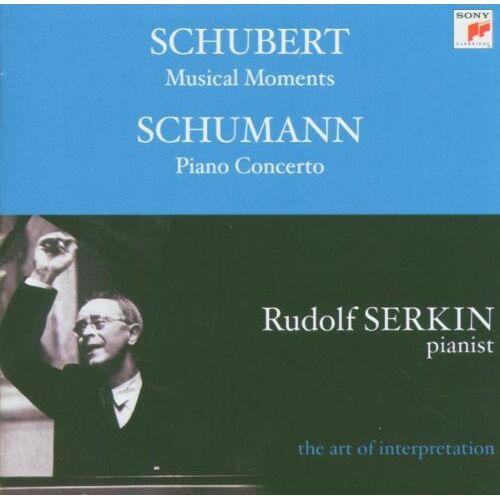 Rudolf Serkin - Piano Cto./Musical Moments - Preis vom 18.04.2021 04:52:10 h