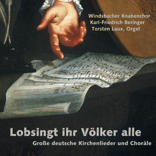 Beringer - Lobsingt Ihr Völker Alle - Große deutsche Kirchenlieder und Choräle - Preis vom 16.04.2021 04:54:32 h