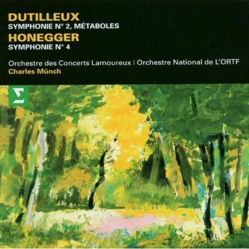 Charles Munch - Sinfonie 2/Metaboles/Sinf.4 - Preis vom 06.03.2021 05:55:44 h