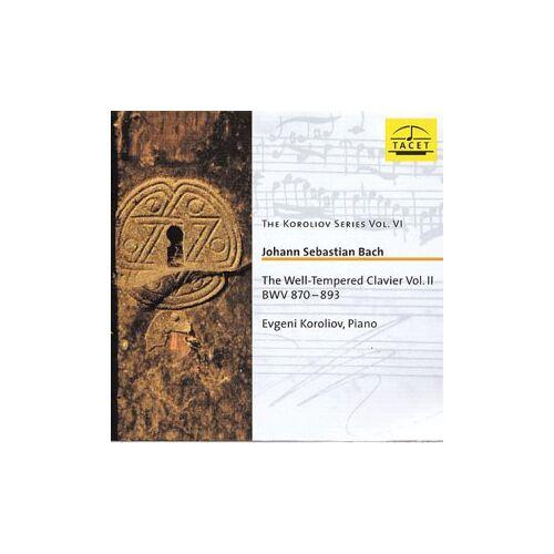 Bach:Well Tempered Clavier Vol - Das Wohltemperierte Klavier II - Preis vom 20.10.2020 04:55:35 h