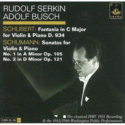 Adolf Busch - Adolf Busch und Rudolf Serkin - Preis vom 12.05.2021 04:50:50 h
