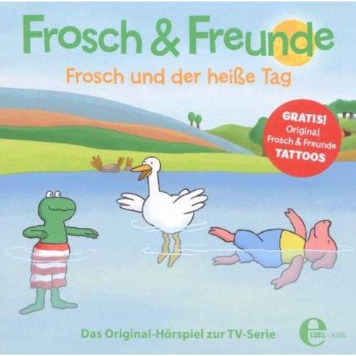 Frosch & Freunde - (4)Hsp Z.TV-Serie-Frosch und der Heie Tag - Preis vom 07.07.2020 05:03:36 h