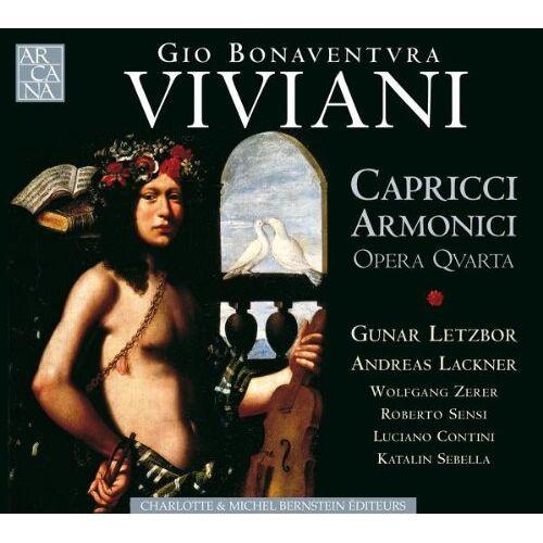 Gunar Letzbor - Capricci Armonici Da Chiesa E - Preis vom 02.12.2020 06:00:01 h