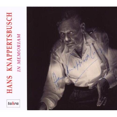 Knappertsbusch - In Memoriam Hans Knappertsbusch - Preis vom 08.04.2021 04:50:19 h