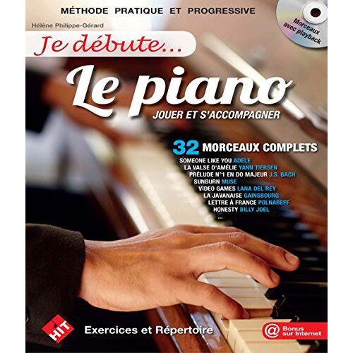 Philippe-Gérard Hele - Je Debute le Piano (+CD) - Preis vom 24.02.2021 06:00:20 h