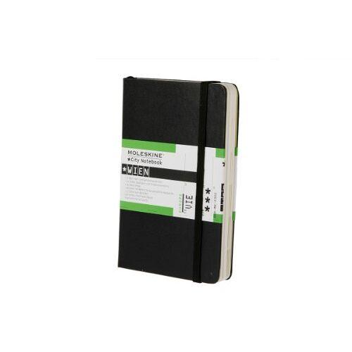 Moleskine - Moleskine City Notebook / Wien / Pocket / Fester Einband / Schwarz - Preis vom 11.06.2021 04:46:58 h