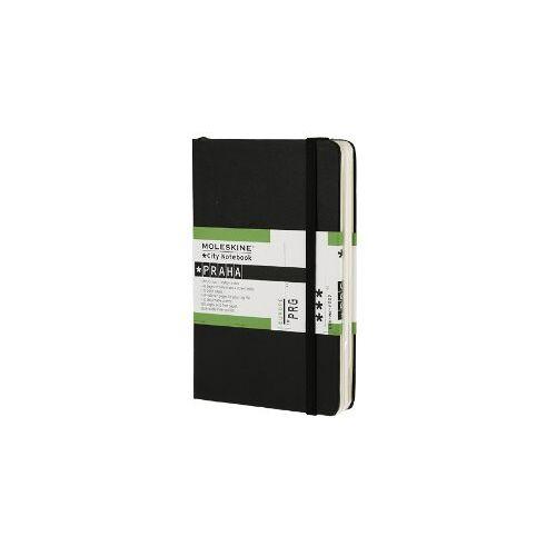 Moleskine - Moleskine City Notebook / Prag / Pocket / Fester Einband / Schwarz - Preis vom 11.06.2021 04:46:58 h