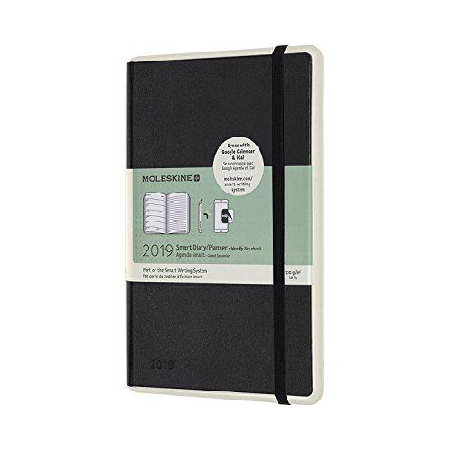 Moleskine - 2019 Moleskine Paper Tablet Notebook Black Large Weekly 12-month Diary - Preis vom 03.09.2020 04:54:11 h