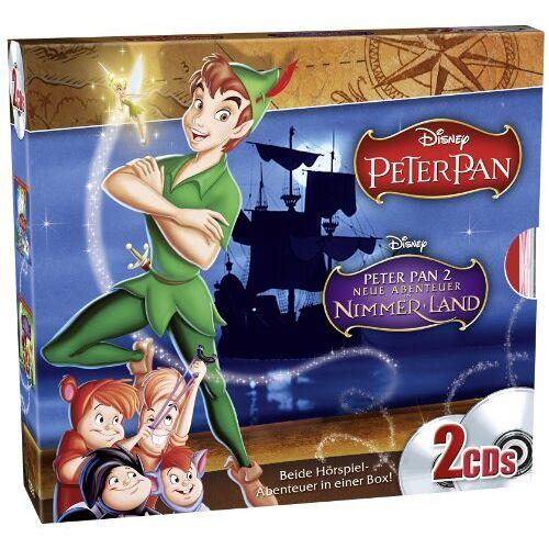 Walt Disney - Disney's Peter Pan 1+2 - Preis vom 29.07.2021 04:48:49 h