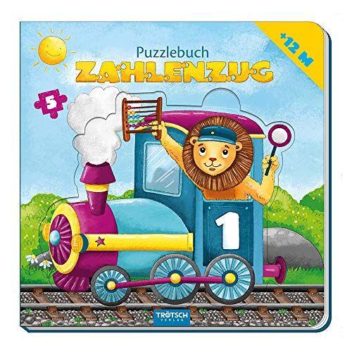 Trötsch Verlag GmbH & Co. KG - Trötsch Puzzlebuch Zahlenzug Puzzlebuch: Kinderbuch Beschäftigungsbuch Entdeckerbuch Puzzlebuch - Preis vom 19.06.2021 04:48:54 h