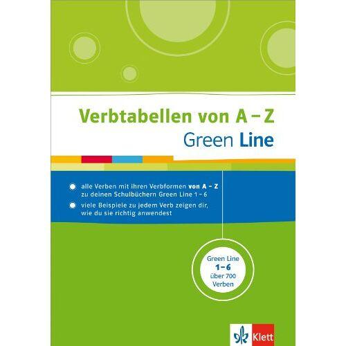 - Green Line Verbtabellen von A-Z - Preis vom 11.06.2021 04:46:58 h