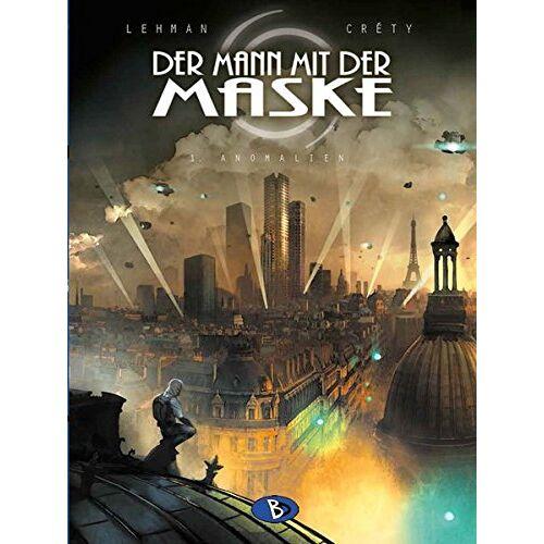 Serge Lehmann - Der Mann mit der Maske #1: Anomalien - Preis vom 22.06.2021 04:48:15 h