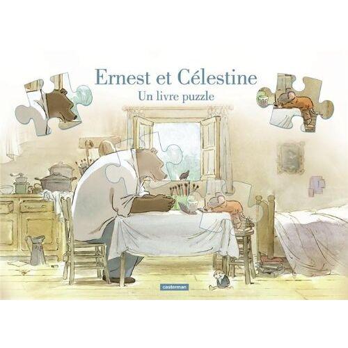 Gabrielle Vincent - Ernest et Célestine : Un livre puzzle - Preis vom 13.09.2021 05:00:26 h