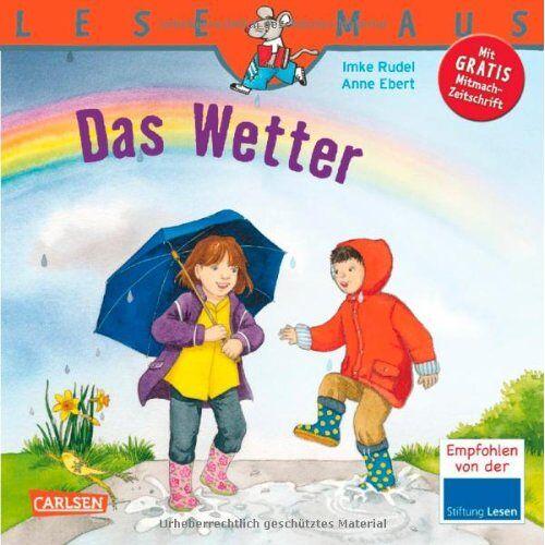 Imke Rudel - LESEMAUS, Band 117: Das Wetter - Preis vom 02.08.2021 04:48:42 h