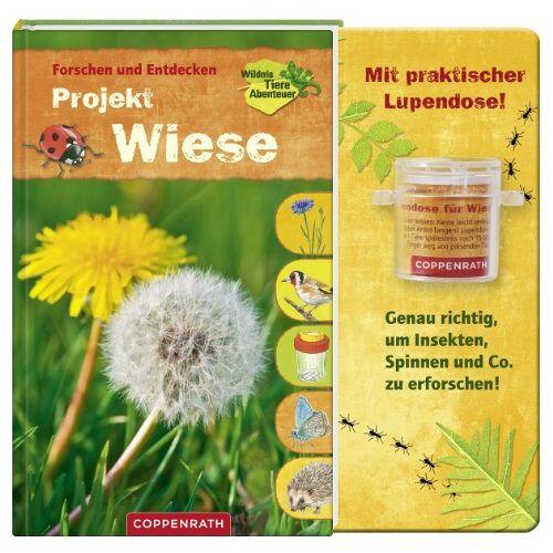 Holger Haag - Forschen und Entdecken: Projekt Wiese: Mit praktischer Lupendose! Genau richtig, um Insekten, Spinnen und Co. zu erforschen! - Preis vom 19.06.2021 04:48:54 h