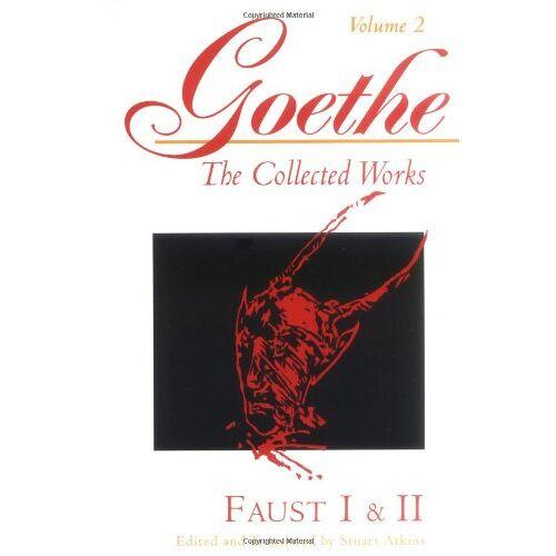 Goethe, Johann Wolfgang von - Goethe, Volume 2: Faust I & II (Goethe the Collected Works) - Preis vom 15.06.2021 04:47:52 h