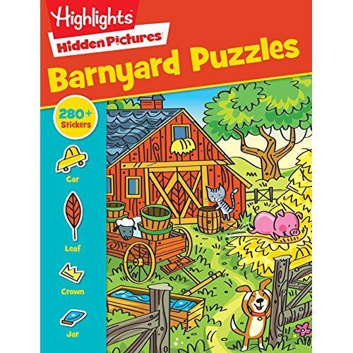 - Barnyard Puzzles (Sticker Hidden Pictures®) - Preis vom 19.06.2021 04:48:54 h