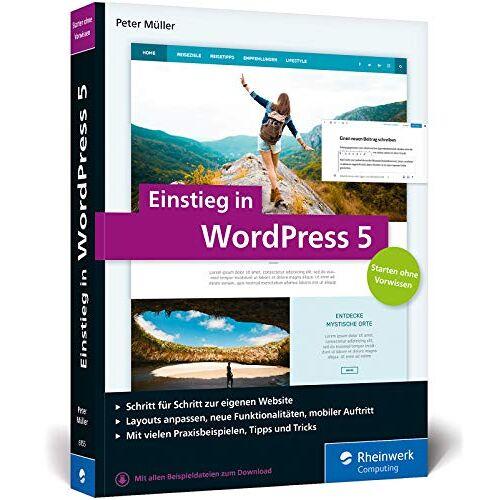 Peter Müller - Einstieg in WordPress 5: Mit Peter Müller erstellen Sie Ihre eigene WordPress-Website. Inkl. WordPress Plug-ins - Preis vom 19.06.2021 04:48:54 h