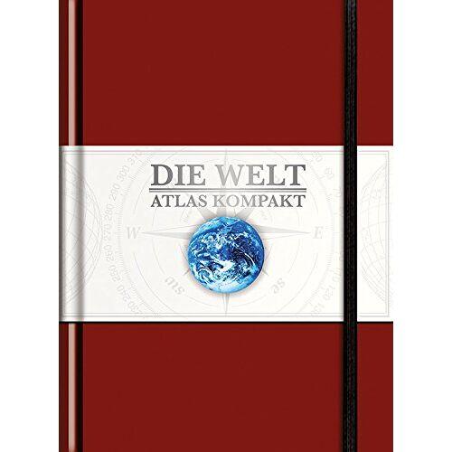 KUNTH Verlag - KUNTH Taschenatlas Die Welt - Atlas kompakt, rot: limitierte Edition (KUNTH Taschenatlanten) - Preis vom 13.09.2021 05:00:26 h