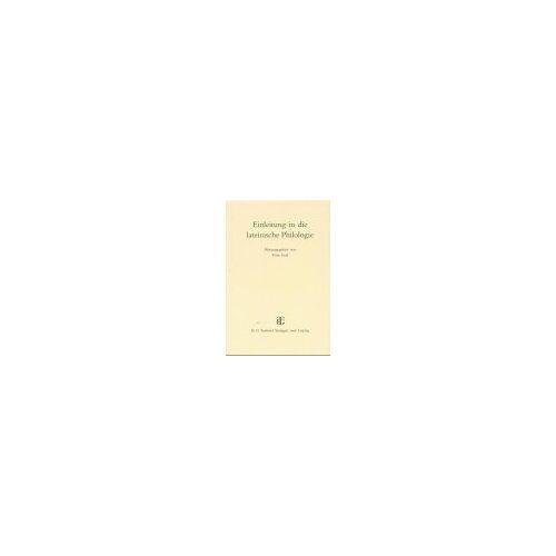 Fritz Graf - Einleitung in die lateinische Philologie - Preis vom 19.06.2021 04:48:54 h