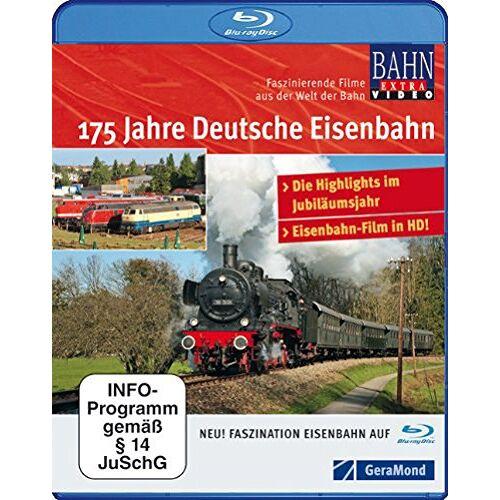 NN - BR 175 Jahre Deutsche Eisenbahnen [Blu-ray] - Preis vom 19.06.2021 04:48:54 h
