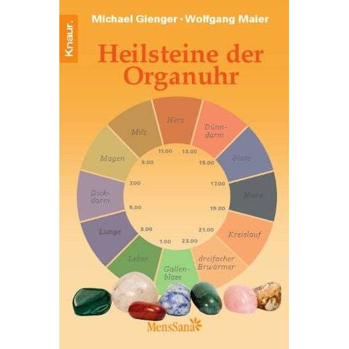 Michael Gienger - Heilsteine der Organuhr - Preis vom 17.06.2021 04:48:08 h