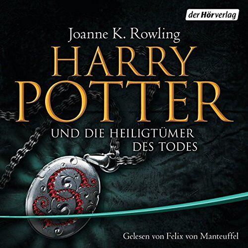 Rowling, Joanne K. - Harry Potter und die Heiligtümer des Todes: Gelesen von Felix von Manteuffel (Harry Potter, gelesen von Felix von Manteuffel, Band 7) - Preis vom 21.06.2021 04:48:19 h
