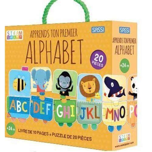 - Apprends ton premier alphabet: Avec un puzzle 20 pîèces - Preis vom 11.10.2021 04:51:43 h