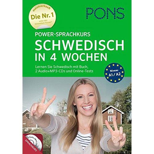 Britta Anders - PONS Power-Sprachkurs Schwedisch: Lernen Sie Schwedisch mit Buch, 2 Audio+MP3-CD's und Online-Tests - Preis vom 21.06.2021 04:48:19 h