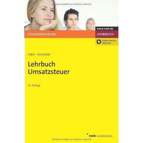Volker Hahn - Lehrbuch Umsatzsteuer - Preis vom 09.06.2021 04:47:15 h