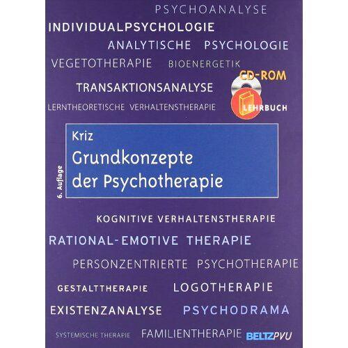Jürgen Kriz - Grundkonzepte der Psychotherapie: Mit CD-ROM - Preis vom 17.09.2021 04:57:06 h