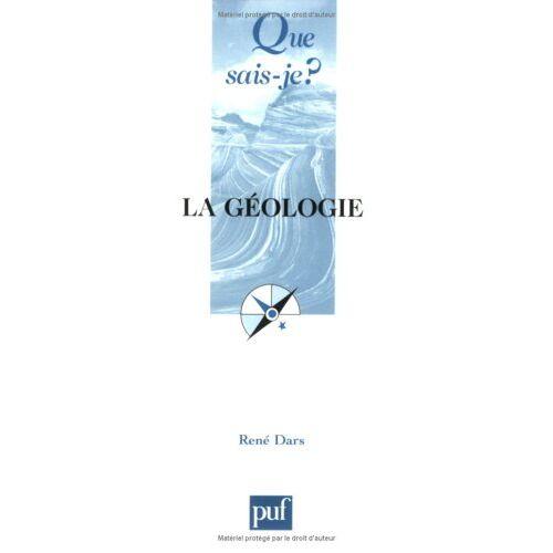 René Dars - La géologie - Preis vom 30.07.2021 04:46:10 h