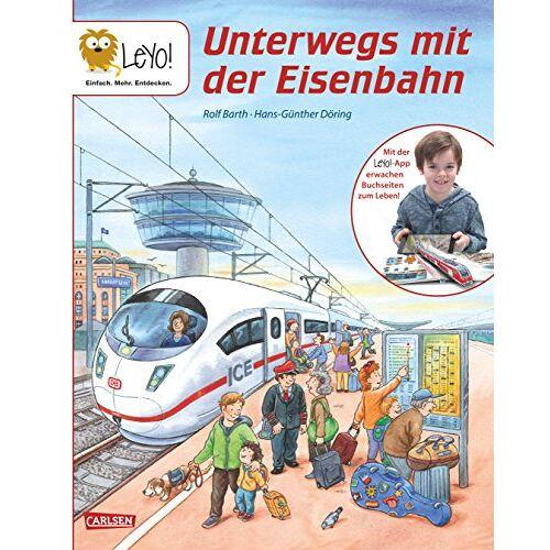 Rolf Barth - LeYo!: Unterwegs mit der Eisenbahn - Preis vom 17.10.2021 04:57:31 h