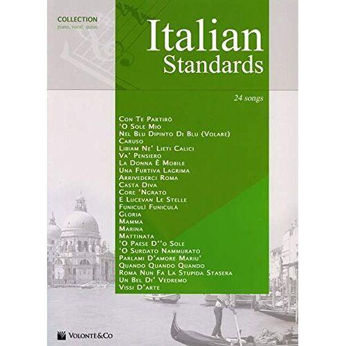 Various - Italian Standards, für Klavier und Gesang - Preis vom 16.06.2021 04:47:02 h