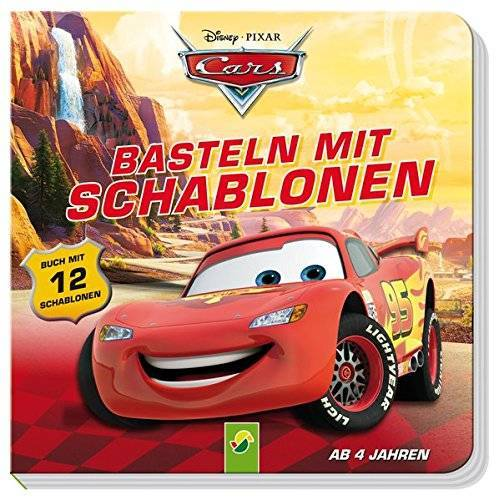 - Cars Basteln mit Schablonen: Buch mit 12 Schablonen - Preis vom 16.05.2021 04:43:40 h