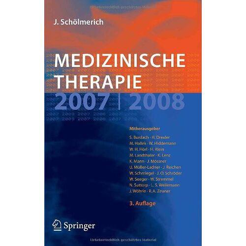 Burdach, Stefan E.G. - Medizinische Therapie 2007 / 2008 - Preis vom 17.09.2021 04:57:06 h