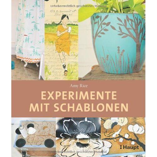 Amy Rice - Experimente mit Schablonen: Eigene Stencils entwerfen - Preis vom 12.06.2021 04:48:00 h