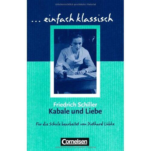 - Kabale und Liebe - Schülerheft - Preis vom 22.06.2021 04:48:15 h