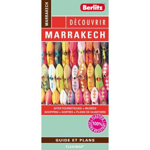 Berlitz - Découvrir Marrakech - Plan plastifié de Marrakech et de son centre-ville - Preis vom 20.10.2021 04:52:31 h