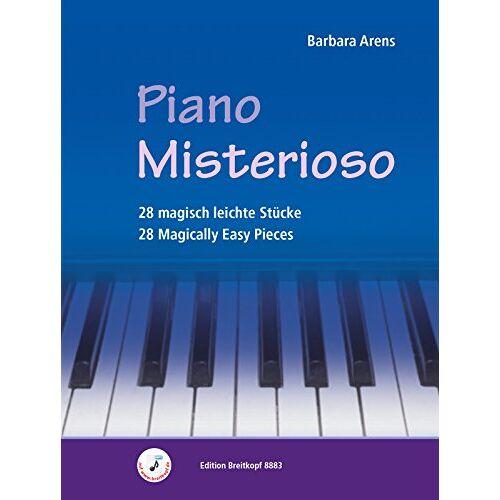 Arens - Piano Misterioso. 28 magisch leichte Stücke für Klavier (EB 8883) - Preis vom 21.06.2021 04:48:19 h