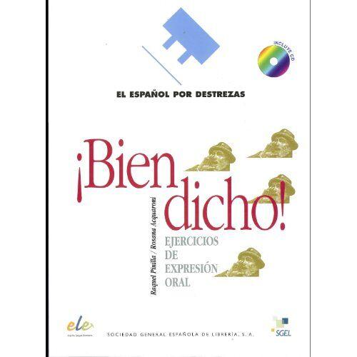 Raquel Pinilla - Bien dicho! Inkl. CD: Nivel B1 (Español por destrezas) - Preis vom 17.06.2021 04:48:08 h