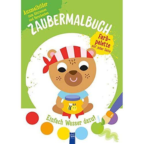- Zaubermalbuch - Bär (grün): Mit Pinsel und Farbpalette - Preis vom 19.06.2021 04:48:54 h