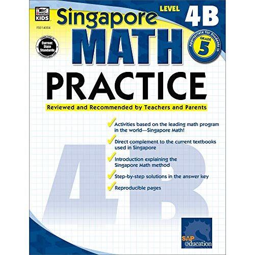 Singapore Asian Publishers - Math Practice, Grade 5 (Singapore Math Practice) - Preis vom 18.06.2021 04:47:54 h