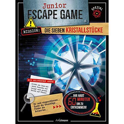 Sandra Lebrun - Junior Escape Game: Die sieben Kristallstücke - Preis vom 10.10.2021 04:54:13 h