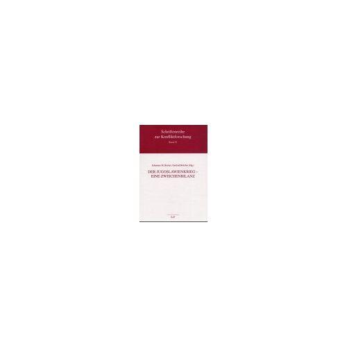 Becker, Johannes M. - Der Jugoslawienkrieg, Eine Zwischenbilanz - Preis vom 24.07.2021 04:46:39 h