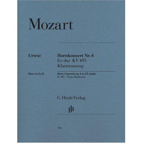 Mozart Wa - Konzert 4 Es-Dur KV 495 Hrn Orch. Horn, Klavier - Preis vom 22.06.2021 04:48:15 h