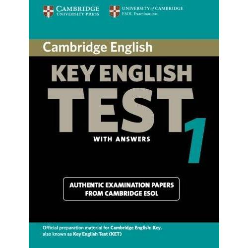 Cambridge ESOL - Cambridge Key English Test 1: Examination Papers from the University of Cambridge ESOL Examinations (Cambridge Books for Cambridge Exams) - Preis vom 18.06.2021 04:47:54 h
