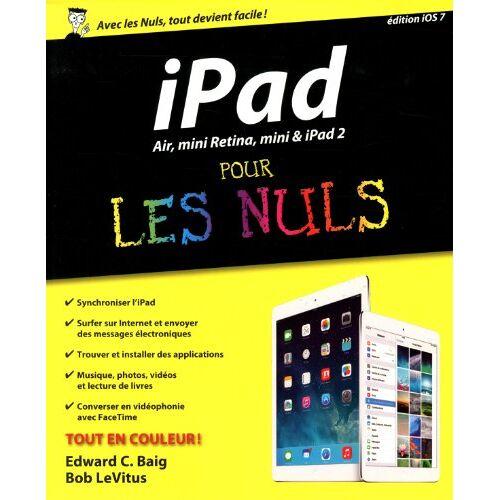 Edward Baig - iPad, Air, mini Retina, mini et iPad 2 pour les Nuls - Preis vom 12.06.2021 04:48:00 h