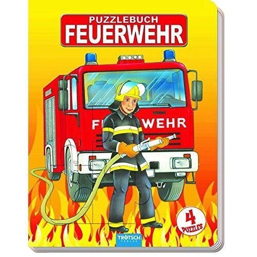 Trötsch Verlag - Puzzlebuch Feuerwehr: 4 Puzzle, je 12 Teile - Preis vom 19.06.2021 04:48:54 h